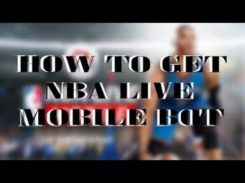 NEW NBA LIVE HACK!!! HURRY!!! HOW TO GET FREE NBA LIVE MOBILE BOT FOR PC OR ANDRIOD! (MUST SEE)