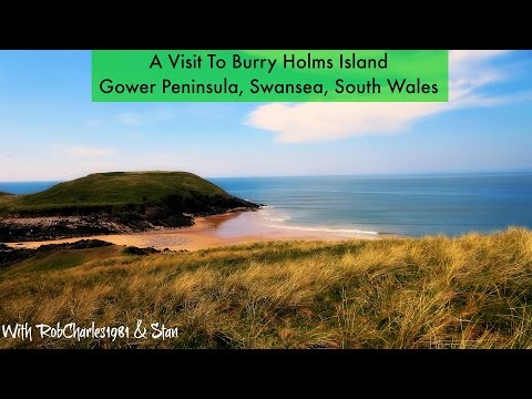 A Visit To Burry Holms Island, Gower Peninsula Swansea South Wales