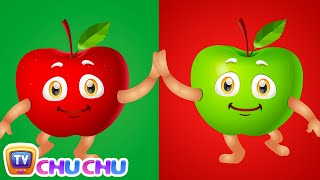 Apple Song (SINGLE) | Learn Fruits for Kids | Educational Learning Songs & Nursery Rhymes | ChuChuTV thumbnail