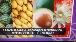 Банан-это ягода?