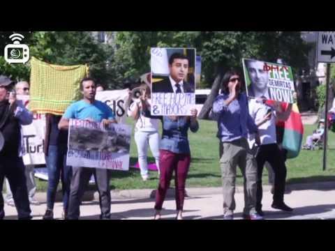 Erdoğan'ın korumaları Washington'da protestoculara saldırdı