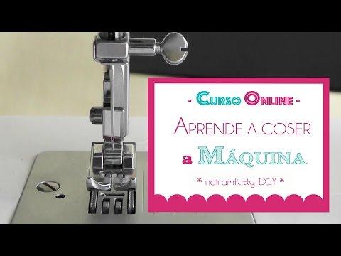 1. CURSO ONLINE APRENDE A COSER A MÁQUINA: PARTES de la MAQUINA DE COSER