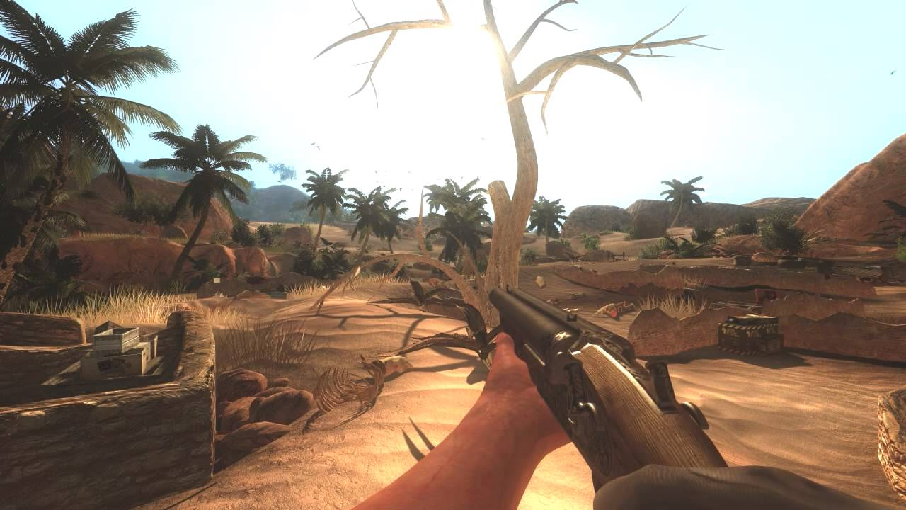 Far Cry 2: Sweetfx Mod - Before And After Presentation