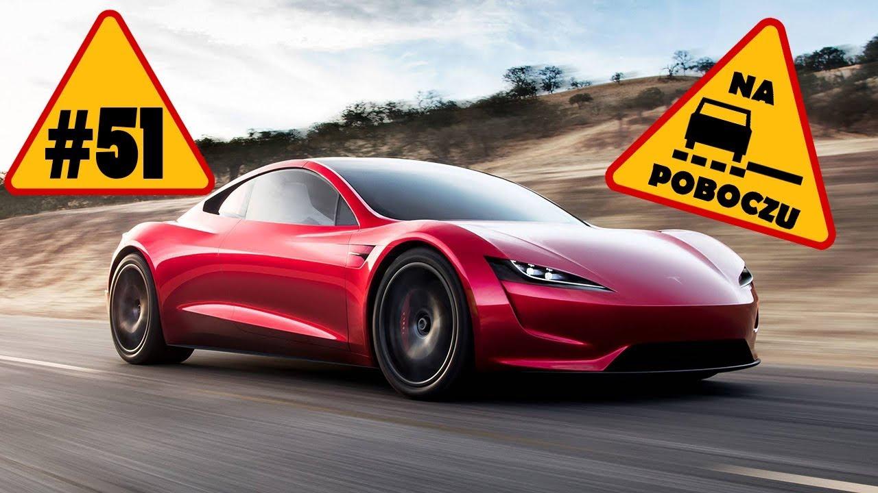 Tesla Roadster & Semi, Chevrolet Corvette, papieski Huracan – #51 NaPoboczu