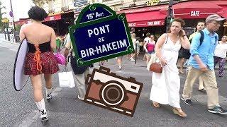 Paris Pont de Bir-Hakeim Walk Tour HD (1080p 60fps)