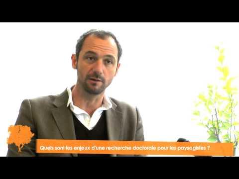 Interview de Martin Chenot pour les 5e Journées Doctorales en Paysage
