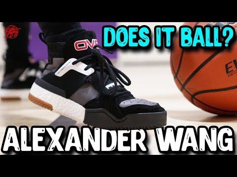 Does It Basketball? Adidas AW BBALL Alexander Wang Basketball!