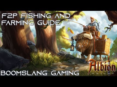 Albion Online - F2P Fishing And Farming Guide