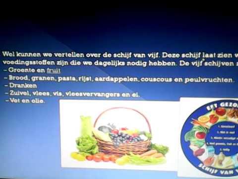 presentatie over gezonde voeding