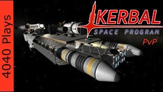 Kerbal Space Program PvP #08 (S2) Leviathan Rises - Capital Ship Launch [4040 Plays]