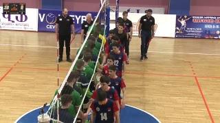 Volleyball EEVZA U-15 Men Championship 16.12.2018 Day4