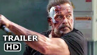 TERMINATOR 6 Official Extended Trailer (2019) Arnold Schwarzenegger, DARK FATE