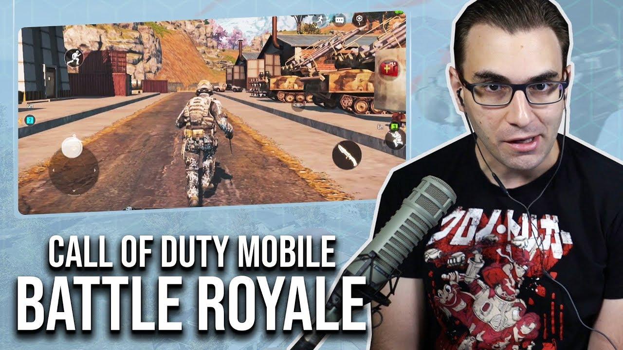 BATTLE ROYALE no CALL OF DUTY MOBILE - Jogo Grátis de Celular | iOS Gameplay