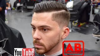 Shadow Fade Comb Over Haircut Tutorial