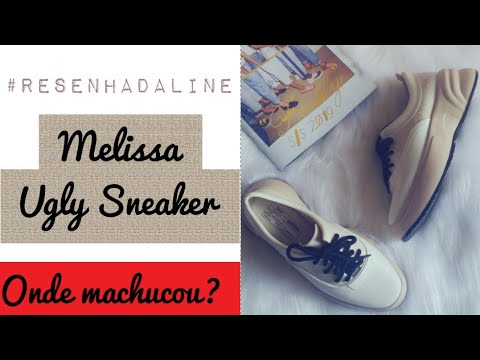 957a85dd03a14 Melissa Ugly Sneaker | ONDE ME MACHUCOU? #ResenhaDaLine - YouTube