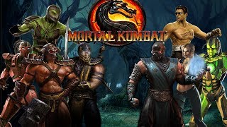 Mortal Kombat 9 Komplete Edition - All Costumes / Skins *All Intros* (HD)