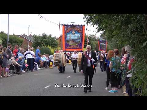 12th July 2018 East Antrim Parade in Ballyclare