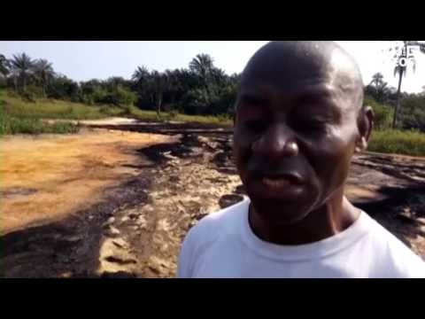 How oil pollution destroyed farms and markets in Ogoniland
