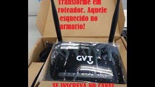 TRANSFORMANDO MODEM EM ROTEADOR#2