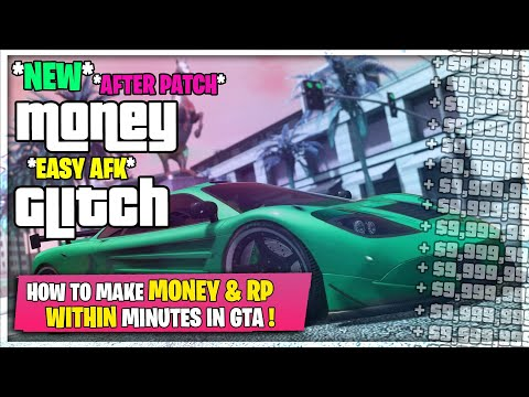 SOLO Easy AFK MONEY GLITCH & RP GLITCH *NO REQUIREMENTS* (GTA 5)
