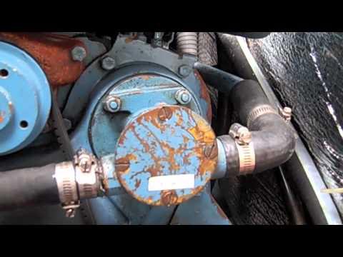 Winterizing Perkins 4108 Diesel  YouTube