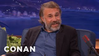 Christoph Waltz On The Difference Between Germans & Austrians - CONAN on TBS