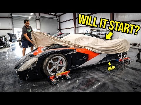 I Bought A WRECKED 800-HP Supercar You've Never Heard Of