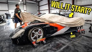 I Bought A WRECKED 800HP Supercar You've Never Heard Of