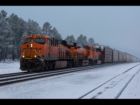 Railfanning Northern Arizona on the BNSF Transcon