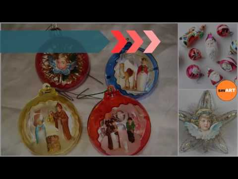 Antique Christmas Ornaments - Antique Christmas Ornaments Glass