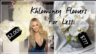 Hii guys and welcome back to another video, today i am going be showing you how can get khloe kardashian's luxurios flowers for a seriously affordable...