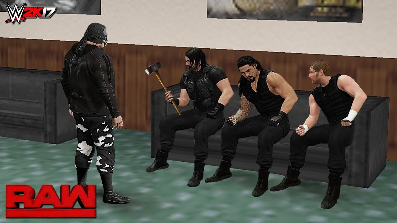 Download WWE 2K17 Custom Story - The Shield Trapped By A Mysterious Man Raw 2017 ft. Goldberg, Triple H - 26