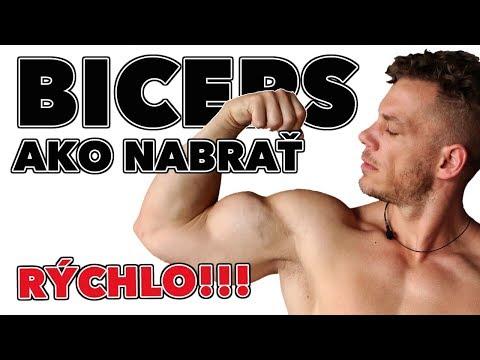 Ako nabrať väčší biceps rýchlo?! Tipy a cviky na väčší…
