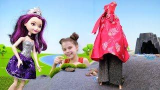 Эвер Афтер Хай - Водопад в горах - Видео для девочек
