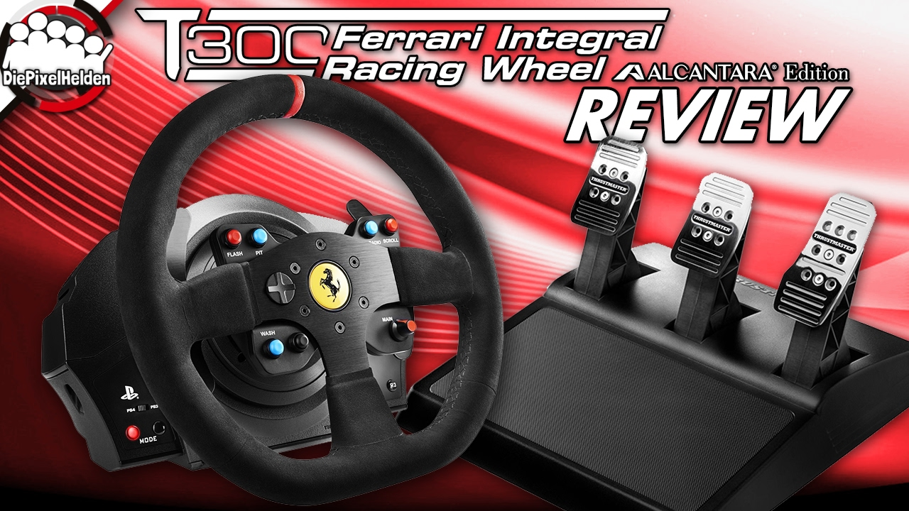 thrustmaster t300 ferrari integral racing wheel. Black Bedroom Furniture Sets. Home Design Ideas