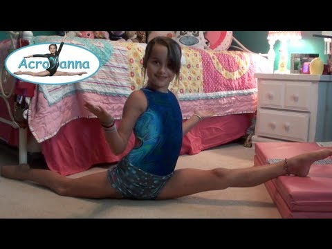 How to do the Splits | Tutorial | Acroanna from YouTube · Duration:  9 minutes 6 seconds