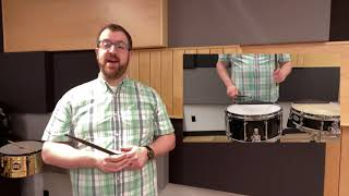 Percussion Tips with Andrew Boynton