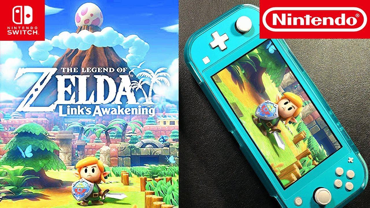 Legend of Zelda Link's Awakening | Nintendo Switch | Unboxing and Gameplay