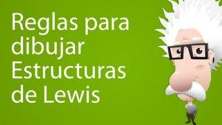 Estructuras de Lewis (reglas para dibujar estructuras)