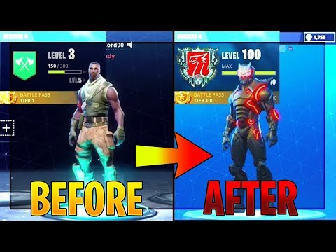 "How To ""TIER UP FAST"" In Fortnite 