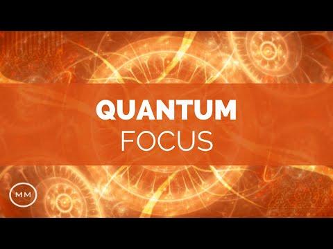 Quantum Focus - Super Mental Focus - Study / Work Focus Improvement - Binaural Beats