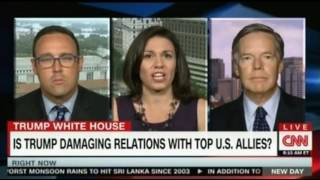 Is Trump damaging Relations with Top US Allies CNN Panel discussion
