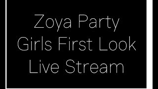 Zoya party girls review + giveaway winners announced || live stream