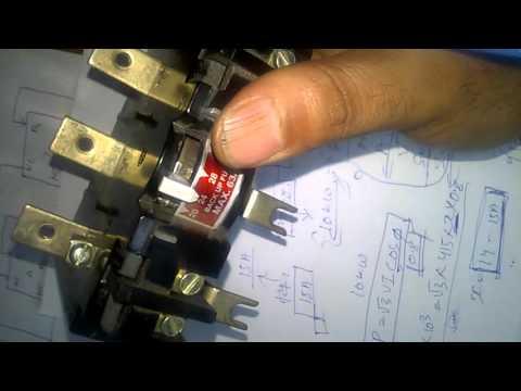 [DIAGRAM_38IU]  Control Wiring for dol starter - YouTube   L T Dol Starter Circuit Diagram      YouTube