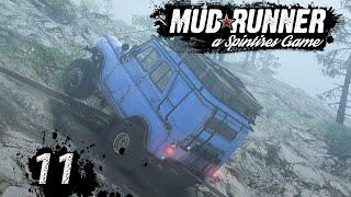 Spintires MudRunner | GELÄNDE wagen ► #11 Off-Road Simulator deutsch german