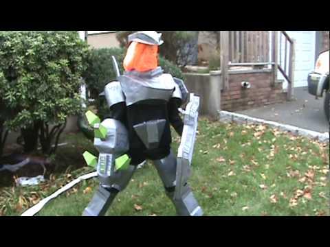 halo reach hunter youtube - Halo Reach Halloween Costume
