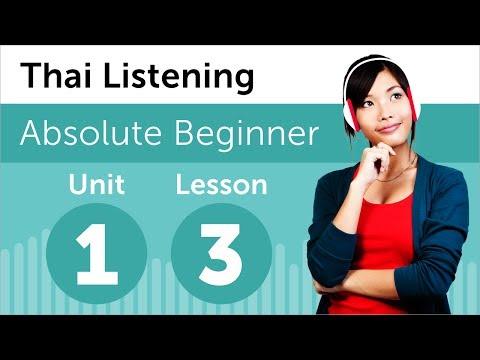 Luyện nghe tiếng Thái- Bài 3: Gọi điện hẹn giờ khám bệnh