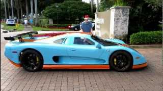 Mosler MT900S and Ford GT.  SUPERCAR!!