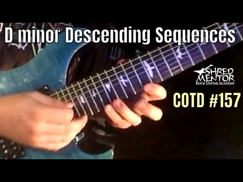 D minor Descending Sequences | ShredMentor Challenge of the Day #157