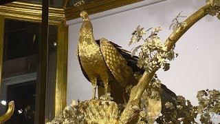 Как работают часы «Павлин» в Эрмитаже